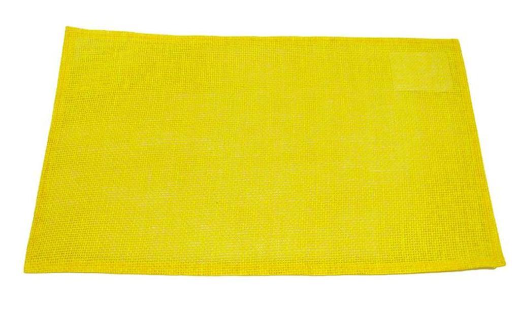 Prostírání celulóza žluté, 29 x 44 cm