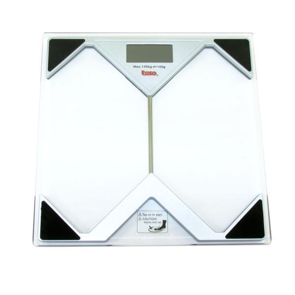 osobní elektronická váha do 150ti kg 28 x 28 x 2,5 cm