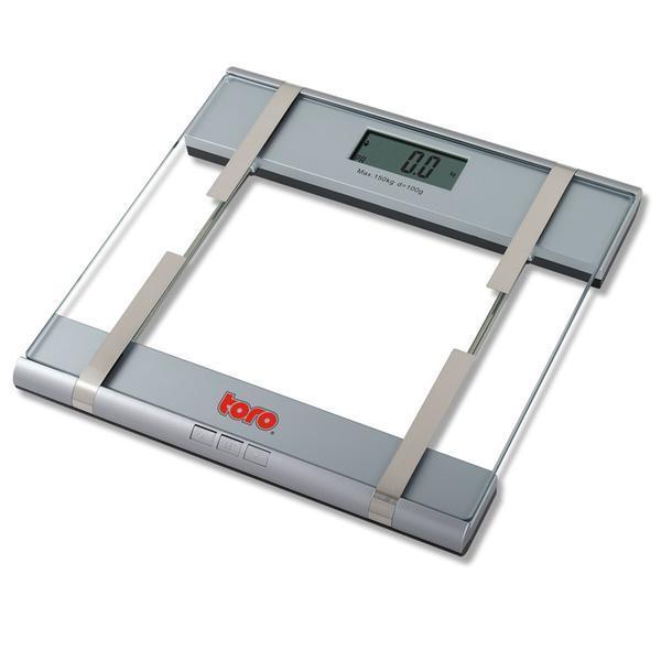 váha osobní elektronická do 150ti Kg 29,5 x 30 x 3,4 cm