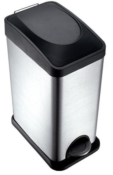 Koš na odpadky, objem 15 l, 20 x 30 x 46,5 cm