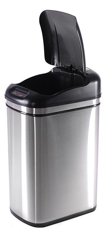 Koš odpadkový se senzorem, objem 32 l, 36 x 26 x 53,5 cm