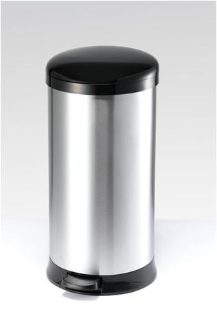 Koš na odpadky 30l - černý mat
