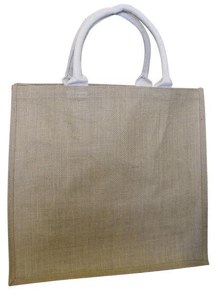 Nákupní taška - přírodní, 42 x 39 x 20 cm