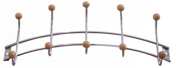 věšák 5 háčků 11,5 x 34,5 cm