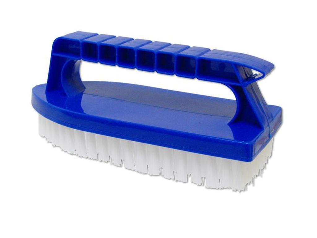kartáč s držadlem plastový 16 x 7 x 4 cm