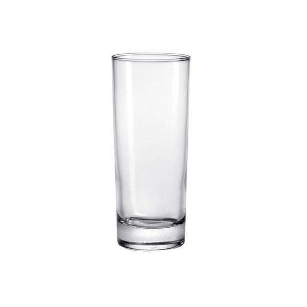 sklenička čirá 16,5 x 6 cm, set 6 ks, 310 ml