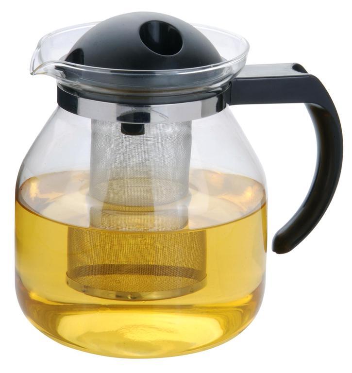 Konvice na čaj 1,5 l s plastovým víčkem