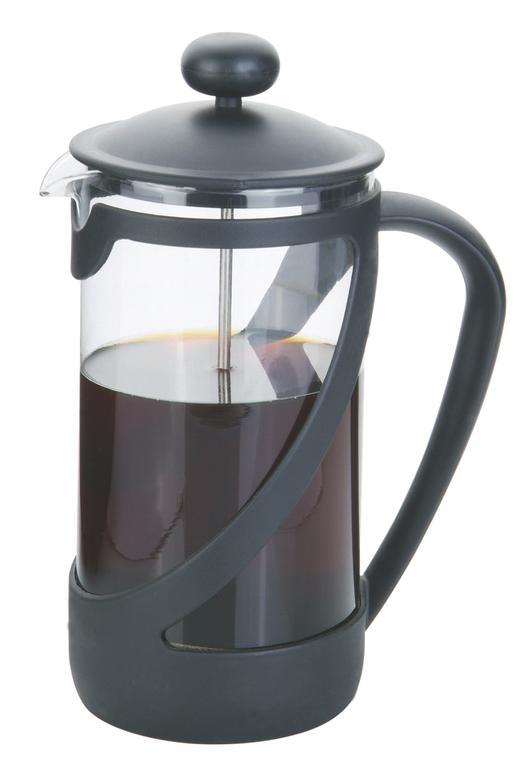 Konvice na čaj 1 l s filtračním pístem a plastovým víčkem