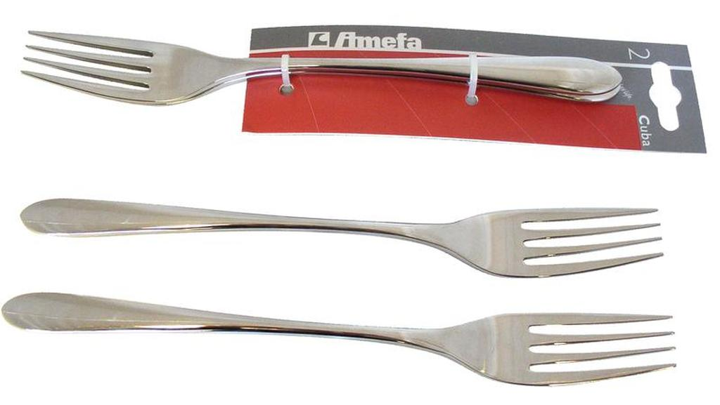 Vidlička jídelní CUBA, 2 ks