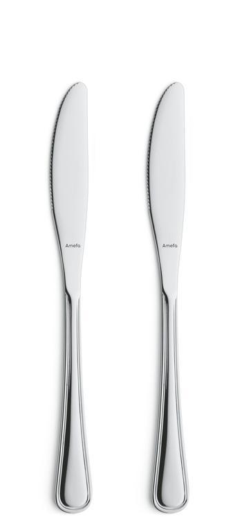 Nůž jídelní BOLOGNA, 2 ks
