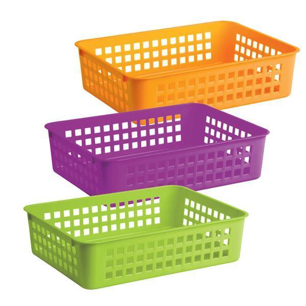 Košíček plastový - 24,5 x 18,5 x 6 cm