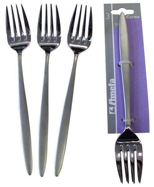 Vidlička jídelní CARME, 3 ks