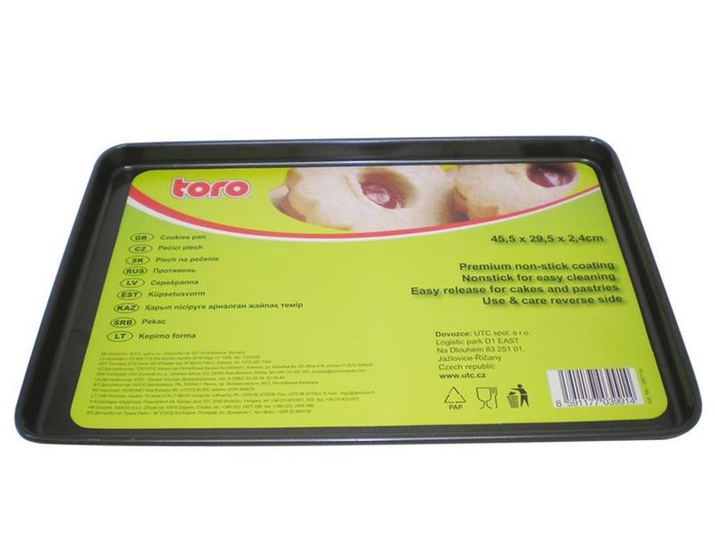 Plech TORO na pečení, 29, 5 x 44, 5 x 2, 2 cm