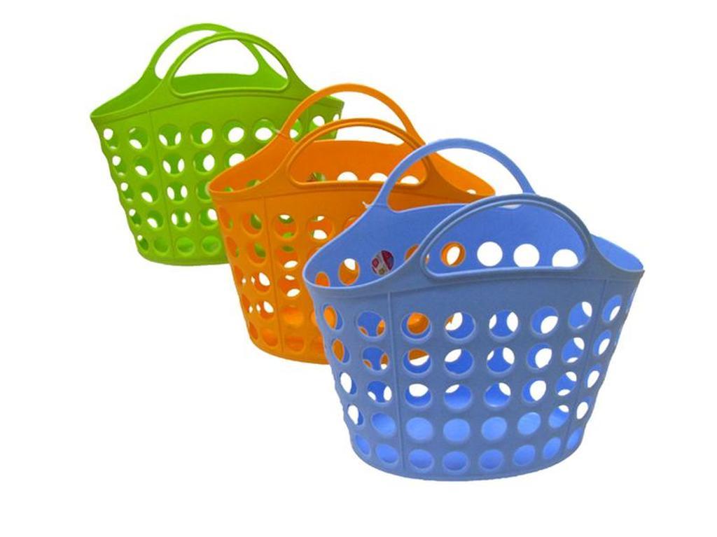 Nákupní košík - plastový 18 x 52 x 40 cm