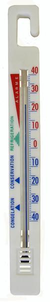 Teploměr do chladničky, od - 40 °C do + 40 °C, 15,4 x 1,7 x 0,5 cm