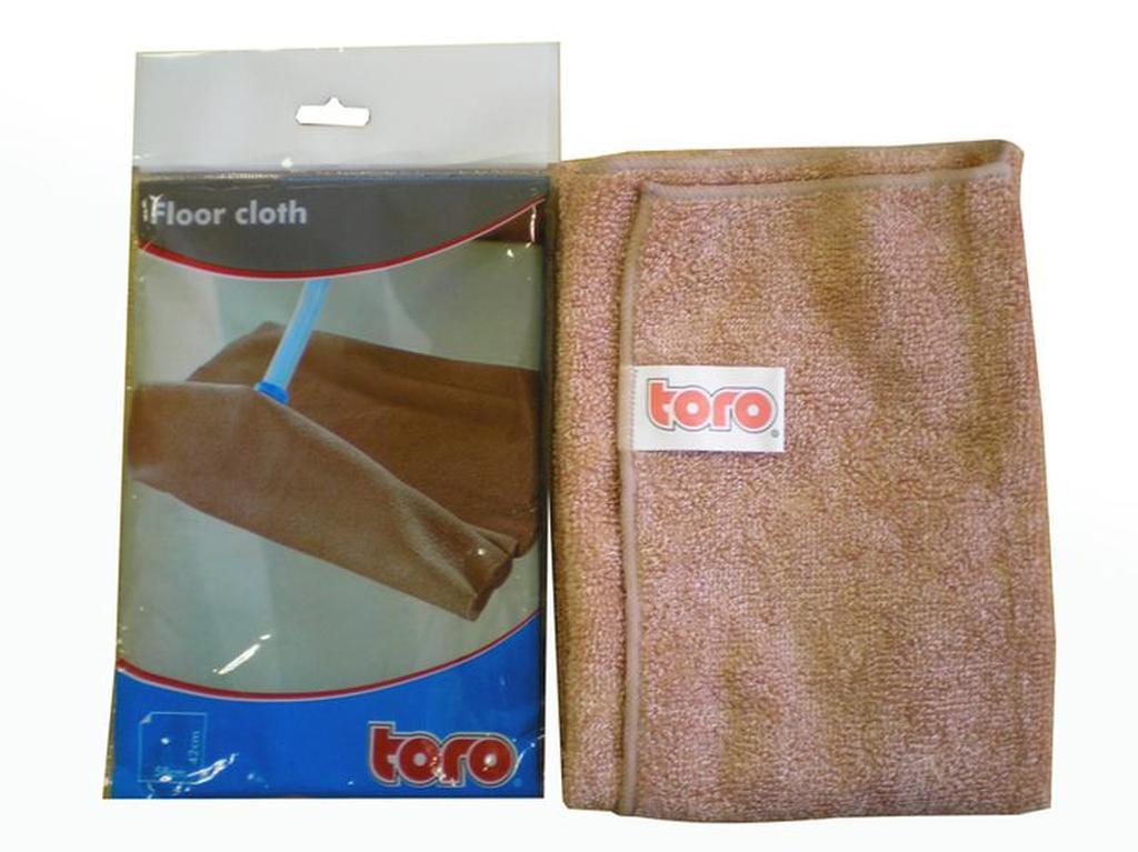 Hadr na podlahu, 58 x 42 cm, textil, hnědá
