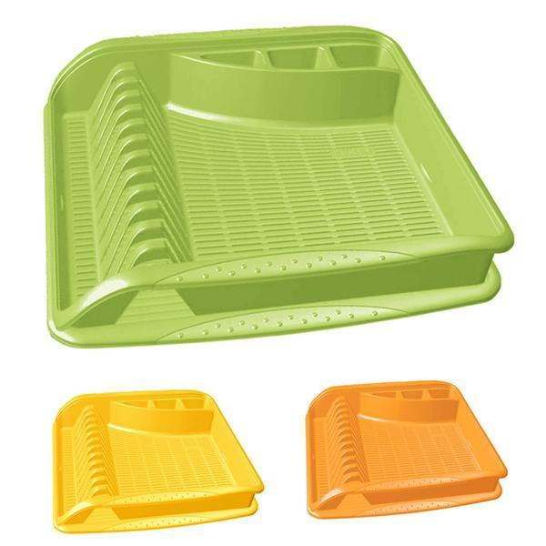 Odkapávač na nádobí - 39,5 x 39,5 x 8 cm