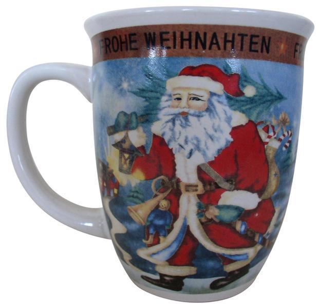 Hrnek vánoční, objem 400 ml, 9, 4 x 10, 7 cm