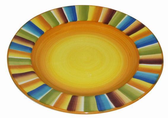 Talíř mělký sluníčkový, 27 x 2, 9 cm