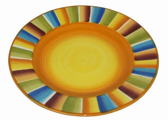 Talíř dezertní sluníčkový, 20 x 2, 8 cm