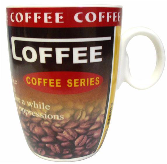 Hrnek COFFEE, objem 350 ml, 8, 2 x 10, 6 cm