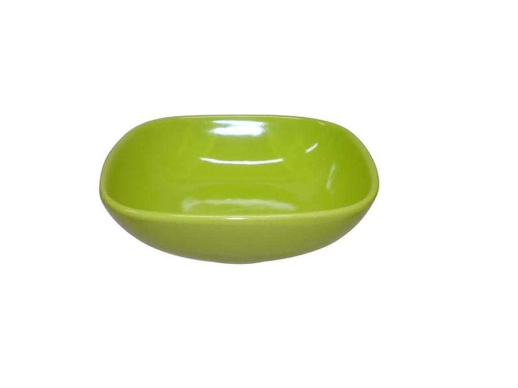Miska polévková čtverec, Objem 650 ml, 16, 6 x 16, 6 x 4, 9 cm