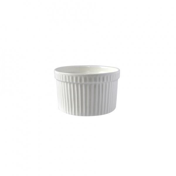 Miska porcelán kulatá, bílá, 8,8 x 5,8 cm