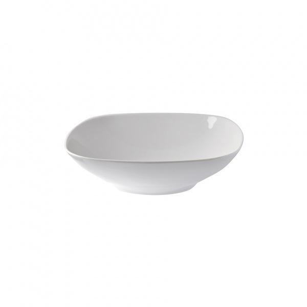 Miska hranatá, bílá Thun, 20x20x6cm
