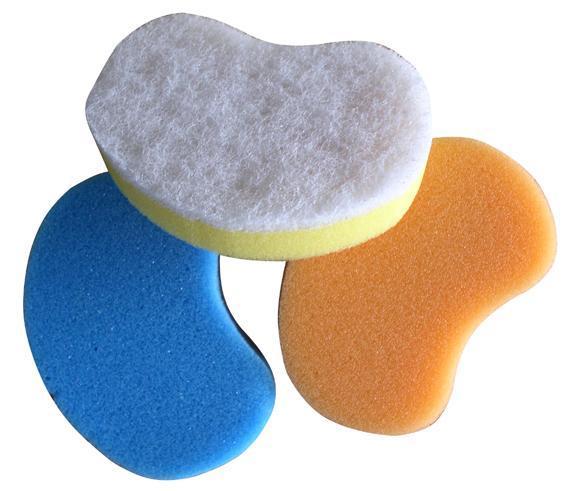 hubka na nádobí tvarovaná 6,8 x 10,7 x 2,2 cm