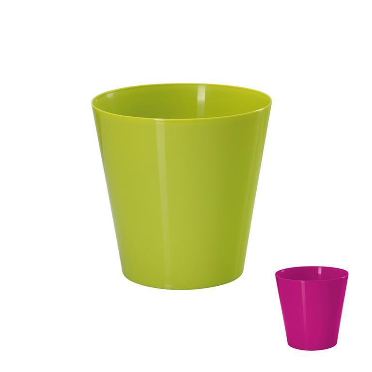 Plastový květináč VOLCANO průměr 15 cm