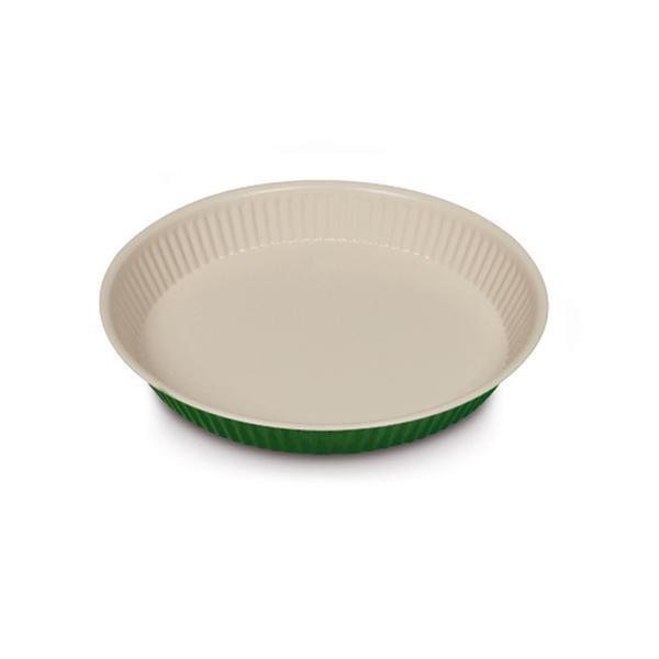 Plech na pečení, 28 cm, ocel/xylan green