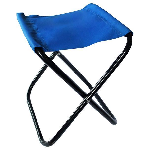 stolička skládací modrá, 26 x 31,5 x 34 cm