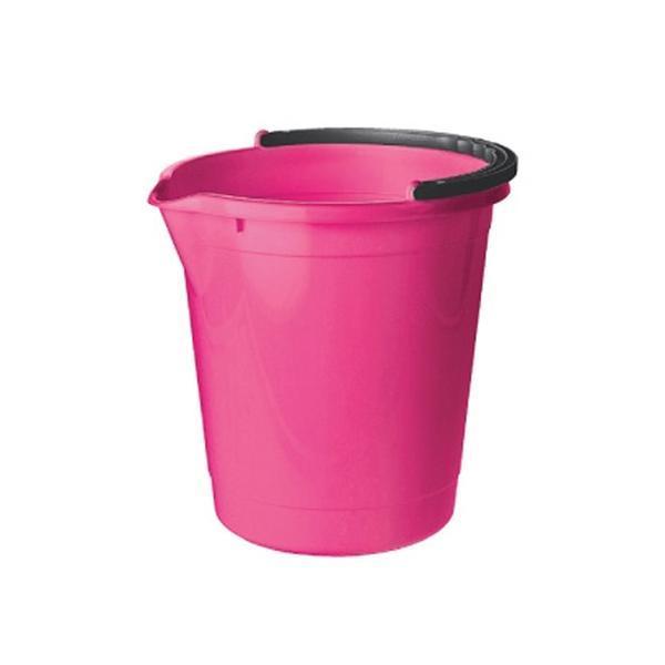 Kbelík s výlevkou 7 l - 25, 3 x 25, 7 cm - růžová fuksiová