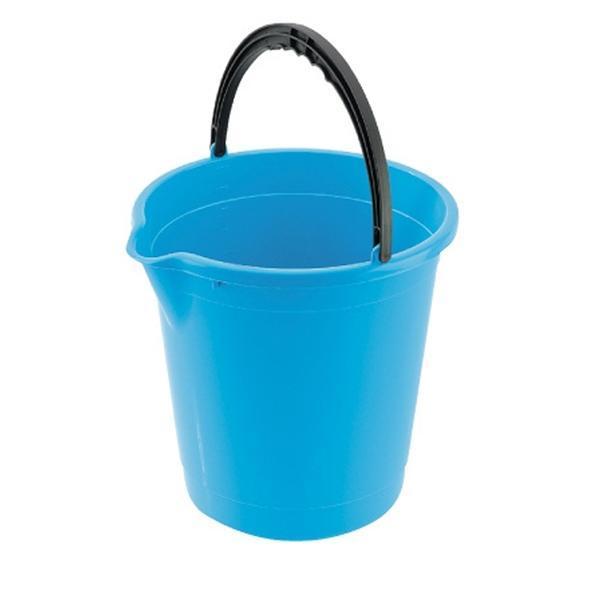 Kbelík s výlevkou 7 l - 25, 3 x 25, 7 cm - safírově modrá
