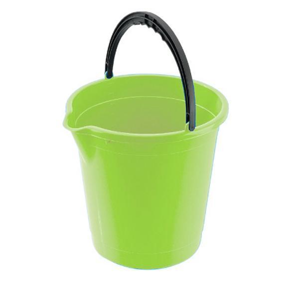 Kbelík s výlevkou 7 l - 25, 3 x 25, 7 cm - světle zelená