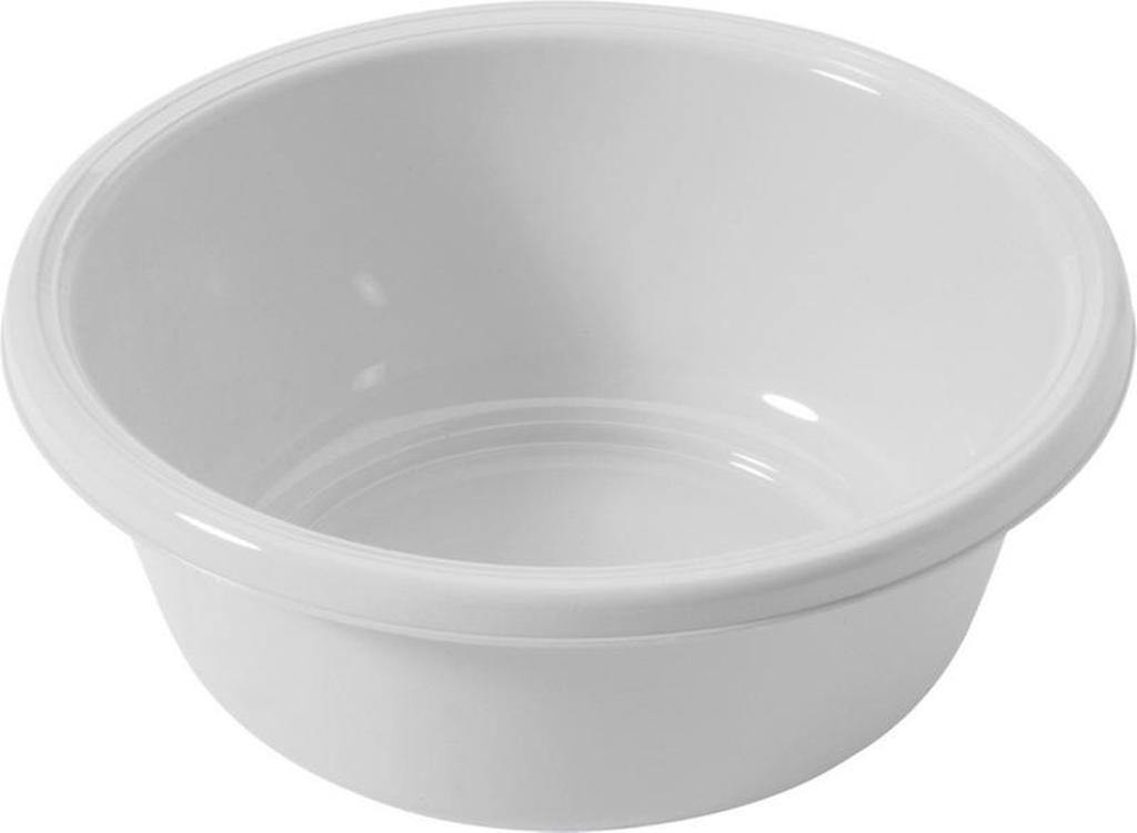 Kulaté umyvadlo 2,5 l - průměr 24 cm - bílá