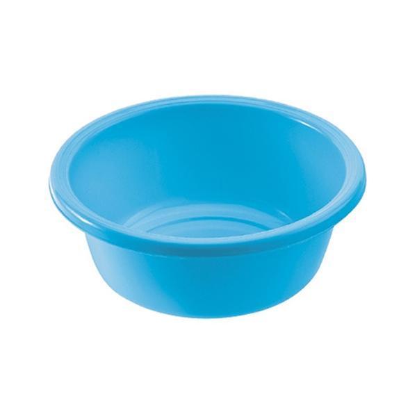 Kulaté umyvadlo 4 l - průměr 28 cm - safírově modrá