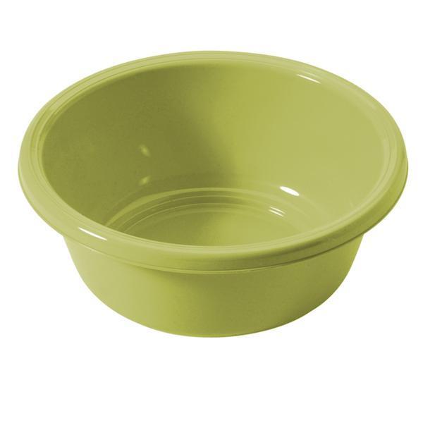 Kulaté umyvadlo 6 l - průměr 32 cm - světle zelená