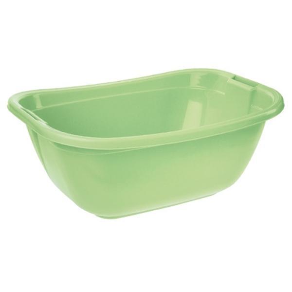 Vanička oválná - zelená, 55 x 40 x 22 cm