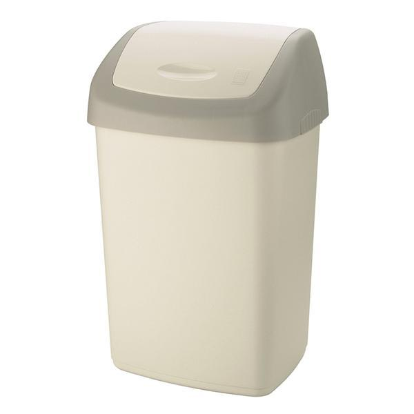 Koš na odpadky SWING TOP, objem 50 l, 40 x 32 x 65 cm