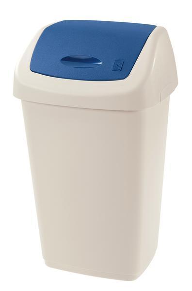Koš na odpadky SWING AURORA, objem 15 l, 22, 5 x 28, 5 x 47 cm