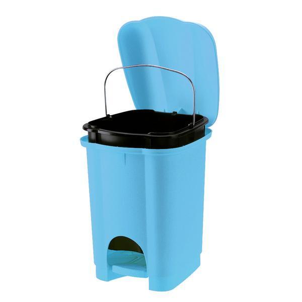 Koš na odpadky CAROLINA, objem 6 l, 22, 5 x 20 x 29, 7 cm