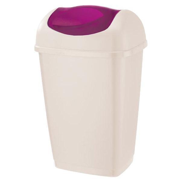 Koš na odpadky GRACE, objem 15 l, 28, 5 x 23 x 46, 5 cm