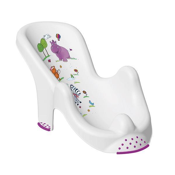 Anatomické sedátko do vany HIPPO - bílá
