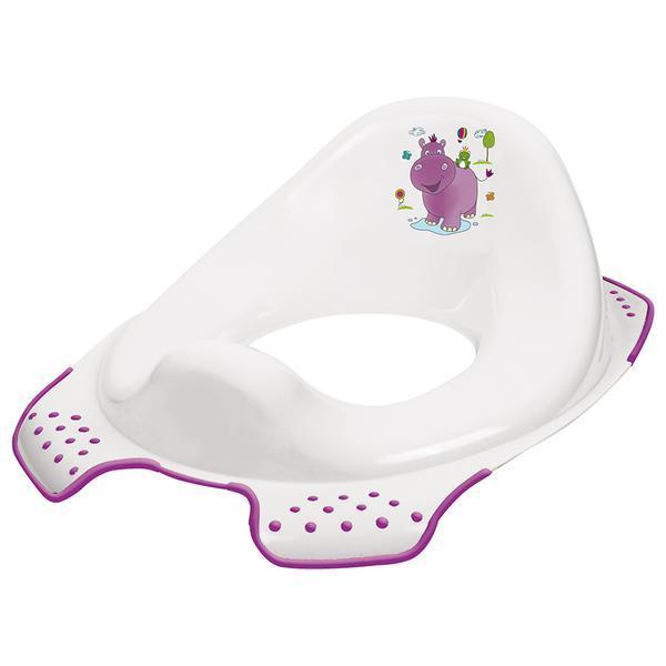 Sedátko na WC HIPPO - bílá