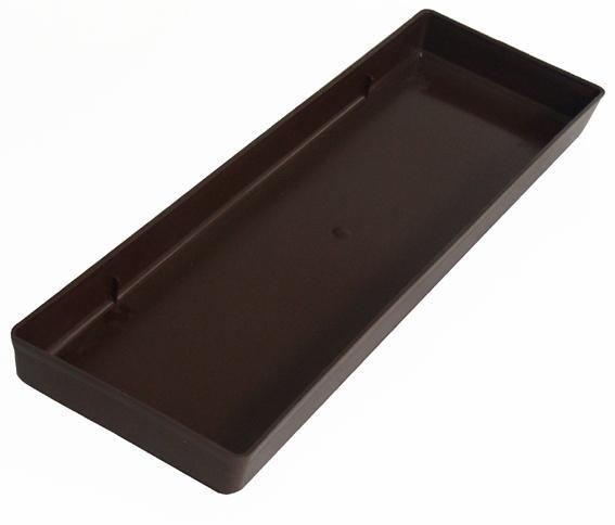 Plastová miska pod truhlík 40 x 15 x 3 cm