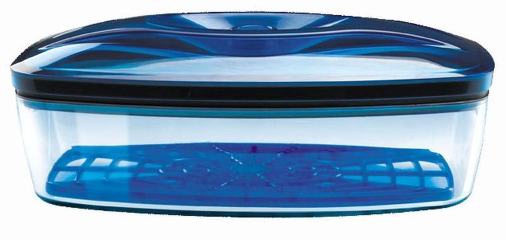 Dóza vakuová, objem 1, 5 l, 17 x 26, 5 x 10 cm