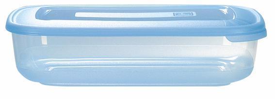 Dóza obdélníková, objem 1, 88 l, 16, 8 x 25, 2 x 6, 2 cm
