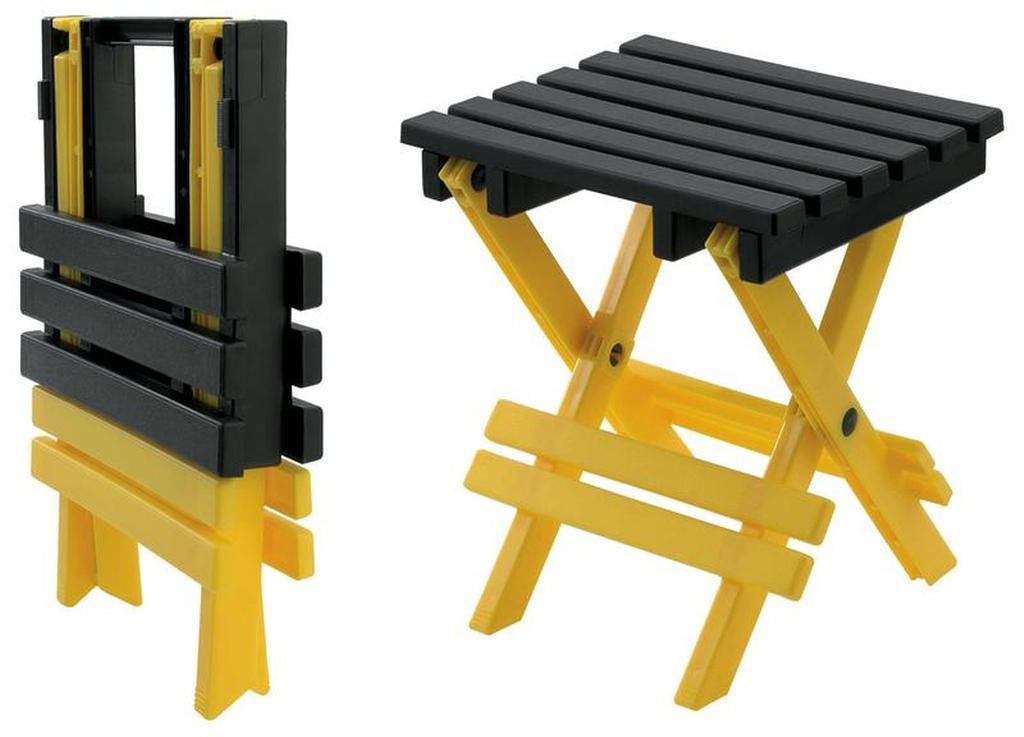 Stolička skládácí, 19, 5 x 23, 2 x 26 cm, nosnost 50 kg