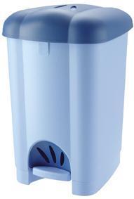 Koš odpadkový CAROLINA, objem 30 l, 31 x 36, 5 x 50 cm